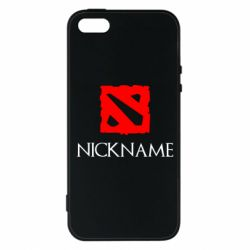 Чохол для iphone 5/5S/SE Your nickname Dota2