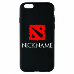 Чохол для iPhone 6/6S Your nickname Dota2