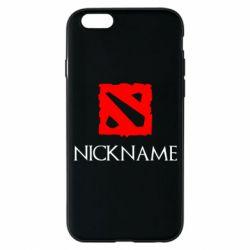 Чохол для iPhone 6/6S Your nickname Dota2