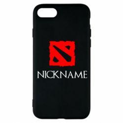 Чохол для iPhone 8 Your nickname Dota2
