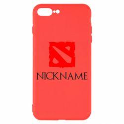 Чохол для iPhone 8 Plus Your nickname Dota2