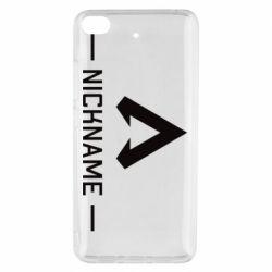 Чехол для Xiaomi Mi 5s Your NickName English only