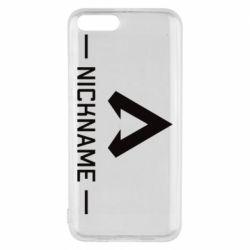 Чехол для Xiaomi Mi6 Your NickName English only