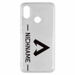 Чехол для Xiaomi Mi8 Your NickName English only