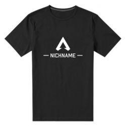 Мужская стрейчевая футболка Your NickName English only