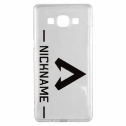 Чехол для Samsung A5 2015 Your NickName English only