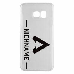 Чехол для Samsung S6 EDGE Your NickName English only