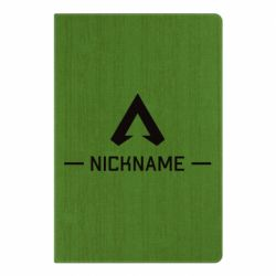 Блокнот А5 Your NickName English only