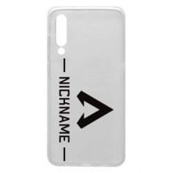 Чехол для Xiaomi Mi9 Your NickName English only