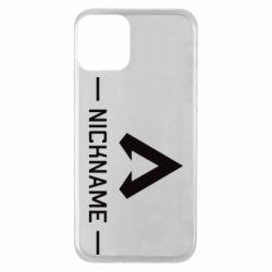 Чехол для iPhone 11 Your NickName English only