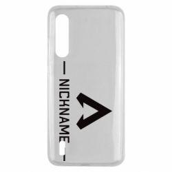 Чехол для Xiaomi Mi9 Lite Your NickName English only