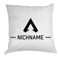 Подушка Your NickName English only