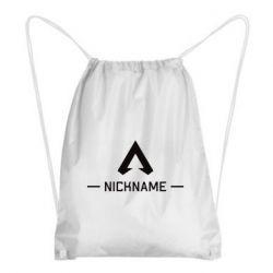 Рюкзак-мешок Your NickName English only