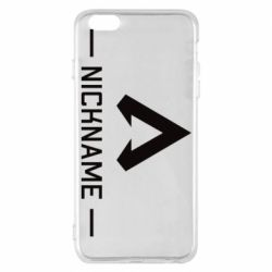 Чохол для iPhone 6 Plus/6S Plus Your NickName English only