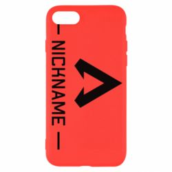 Чехол для iPhone 7 Your NickName English only