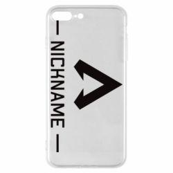 Чехол для iPhone 7 Plus Your NickName English only