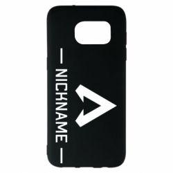 Чехол для Samsung S7 EDGE Your NickName English only