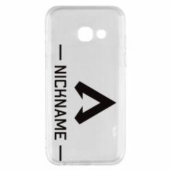 Чехол для Samsung A3 2017 Your NickName English only