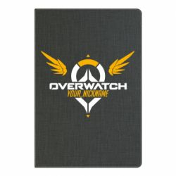 Блокнот А5 Your Nickname in the game Overwatch
