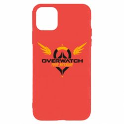 Чехол для iPhone 11 Pro Your Nickname in the game Overwatch
