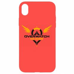 Чехол для iPhone XR Your Nickname in the game Overwatch