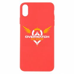 Чехол для iPhone Xs Max Your Nickname in the game Overwatch