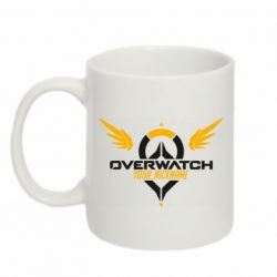 Кружка 320ml Your Nickname in the game Overwatch