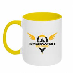 Кружка двухцветная 320ml Your Nickname in the game Overwatch