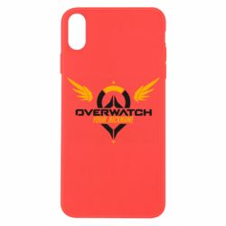 Чехол для iPhone X/Xs Your Nickname in the game Overwatch