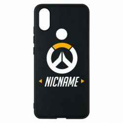Чехол для Xiaomi Mi A2 Your Nickname Overwatch