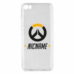 Чехол для Xiaomi Mi5/Mi5 Pro Your Nickname Overwatch