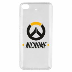 Чехол для Xiaomi Mi 5s Your Nickname Overwatch