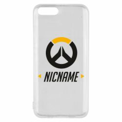 Чехол для Xiaomi Mi6 Your Nickname Overwatch