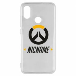 Чехол для Xiaomi Mi8 Your Nickname Overwatch