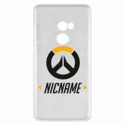 Чехол для Xiaomi Mi Mix 2 Your Nickname Overwatch