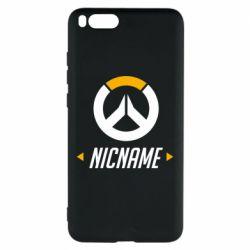 Чехол для Xiaomi Mi Note 3 Your Nickname Overwatch