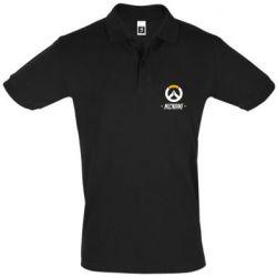 Мужская футболка поло Your Nickname Overwatch