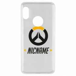 Чехол для Xiaomi Redmi Note 5 Your Nickname Overwatch