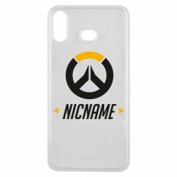 Чехол для Samsung A6s Your Nickname Overwatch