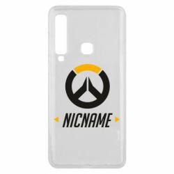 Чехол для Samsung A9 2018 Your Nickname Overwatch