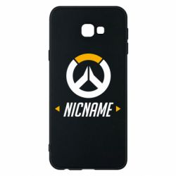 Чехол для Samsung J4 Plus 2018 Your Nickname Overwatch