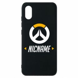 Чехол для Xiaomi Mi8 Pro Your Nickname Overwatch