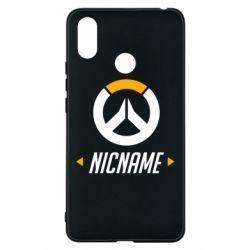 Чехол для Xiaomi Mi Max 3 Your Nickname Overwatch