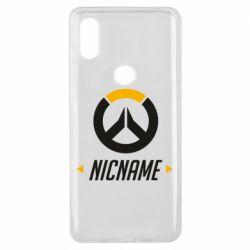 Чехол для Xiaomi Mi Mix 3 Your Nickname Overwatch