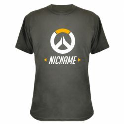 Камуфляжная футболка Your Nickname Overwatch