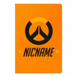 Блокнот А5 Your Nickname Overwatch