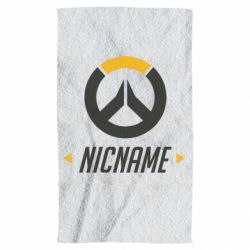 Полотенце Your Nickname Overwatch