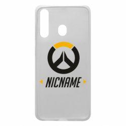 Чехол для Samsung A60 Your Nickname Overwatch