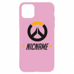 Чехол для iPhone 11 Pro Your Nickname Overwatch