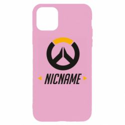 Чехол для iPhone 11 Pro Max Your Nickname Overwatch